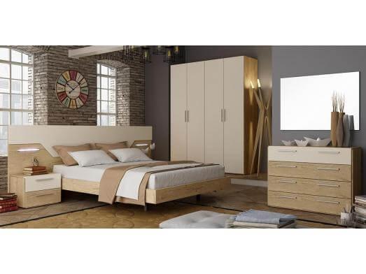 Mobila dormitor - model Luana